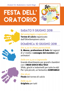 Volantino festa chiusura 2018 LEGN