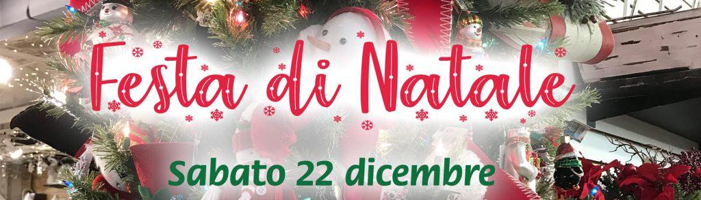 Festa di Natale - Sabato 22 dicembre
