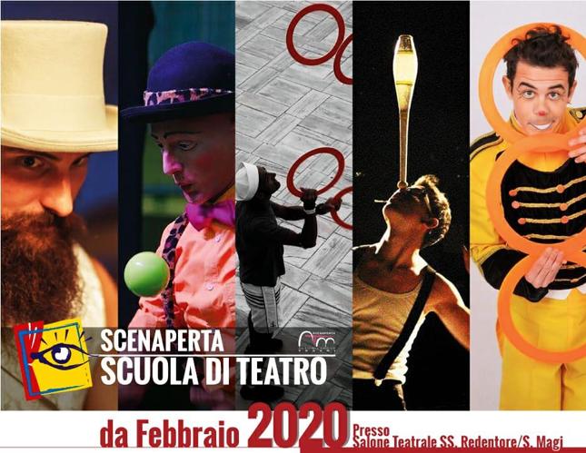 Corsi e laboratori di teatro-danza e arti circensi